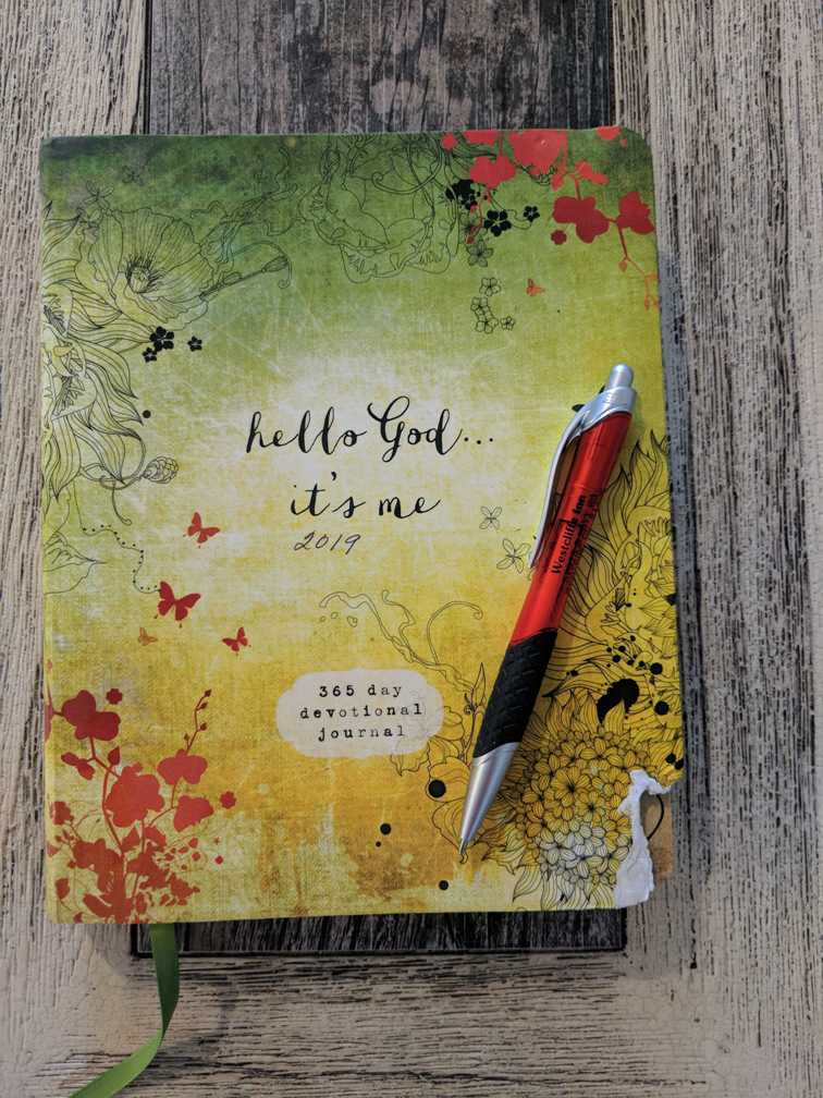 Bible Journaling – June's entries from over 30 years ago
