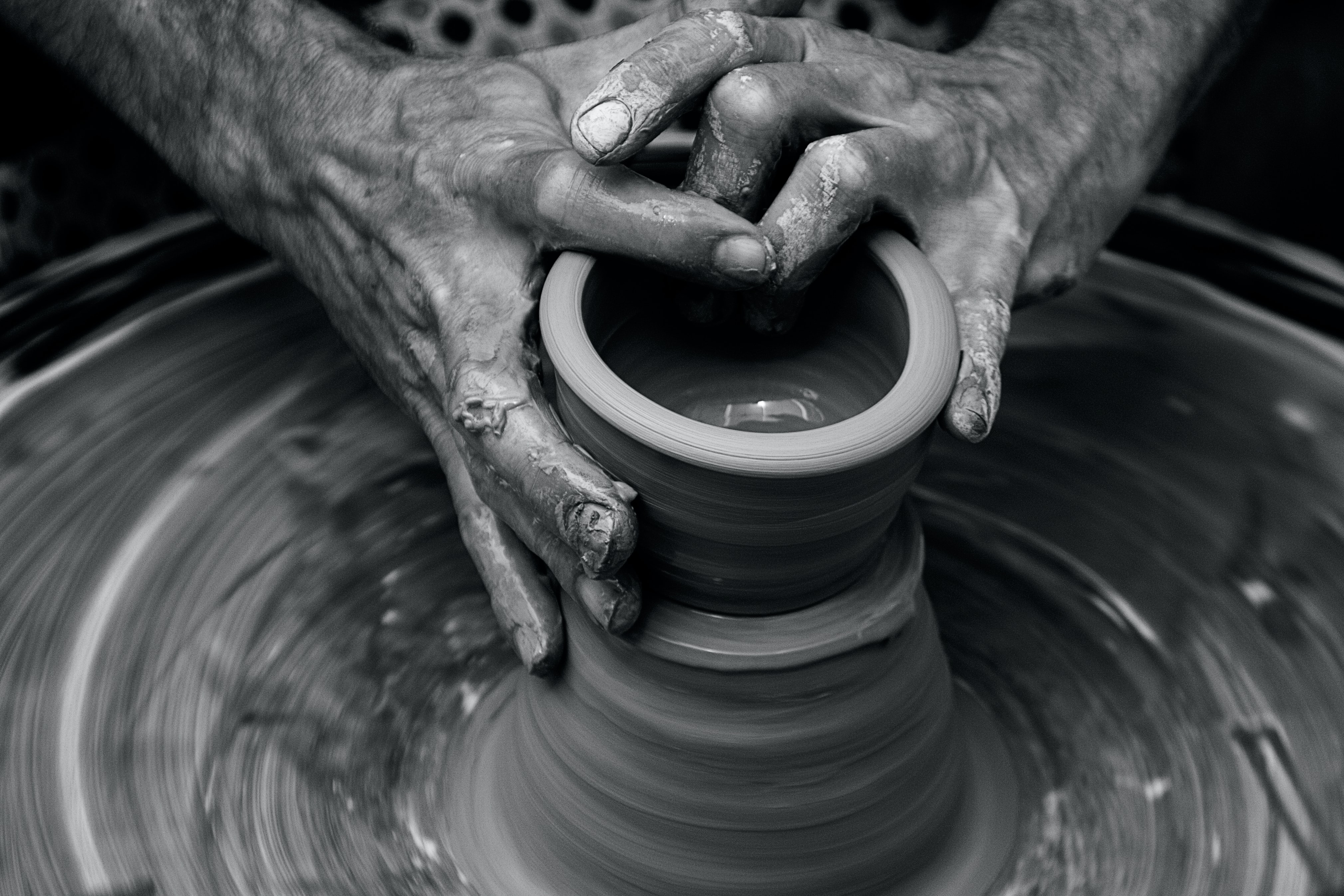 I am the Potter, Thou art the Clay
